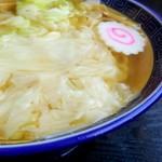 107830198 - ワンタン麺