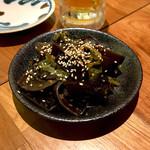 くもざき - *キクラゲのナムル(¥380)