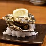 大漁酒場 魚樽本店 - 蒸し牡蠣@320円:初期状態