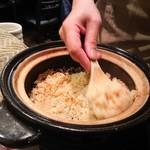 禅紫 - 桜海老土鍋御飯
