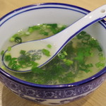 西北拉麺 - 湯
