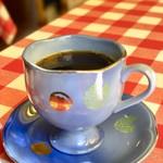 ジョンティ - ランチのコーヒー