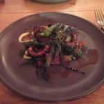 エスタシオン - 「真蛸と春野菜のプランチャ」