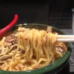 木金堂 - テールラーメン(太麺)