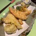 地魚料理 まるさん屋 - 天ぷら( ૢ⁼̴̤̆ .ꇴ ⁼̴̤̆ ૢ)~ෆ