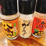 どて串 玉 - 面白調味料(*^^*)