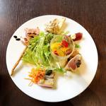zafunatsuya - 前菜の盛り合わせ