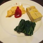 浄土ヶ浜パークホテル - 料理写真:朝のセレクトその1