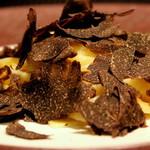 イタリアンレストラン ピーノ - 黒トリュフ カーチョエペペ