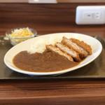 快活CLUB - 料理写真:快カツカレーランチ