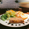 サンク ディアマン - 料理写真:フォアグラのテリーヌ、めちゃ好み!