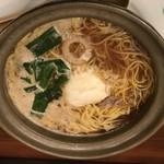 居酒屋ばさら - 料理写真:鍋焼きラーメン並