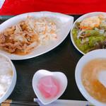 中華美食店 中光園 - 焼肉定食