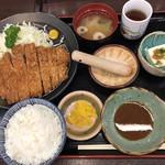 あだたら亭 - 料理写真:味噌カツ膳 1340円税込