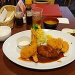 コートレット - 大人のお子様ランチ1380円(税込)+定食セット300円