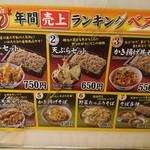 107865574 - かき揚げ丼セットは人気3位らしい                       殆どの方が2位の天ぷらセット頼んでた