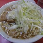 ラーメン二郎 - 小ラーメン750円+ネギ100円