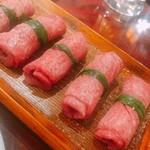 神楽坂の焼肉ここから 美風 - ねぎタン塩