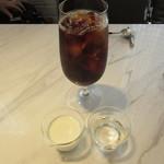 シセイドウ ザ テーブルズ - オリジナルブレンドのアイスコーヒー セットで500円+Tax