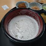 さかき地場産直売所 あいさい亭 - 『おしぼり手打ちうどん(大盛)』 820円