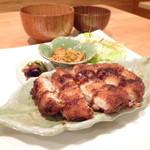 モンテガーデン - チキンカツ定食