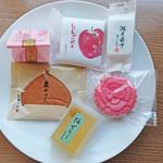 湖月堂 - 料理写真:計1080円