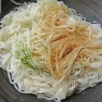 うどん茶屋 海津屋 - 温素麺