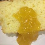 カステラショップ - 料理写真:甘夏ソースの酸味がgood