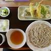 花いかだ - 料理写真:天ぷらせいろ1450円(税別)