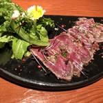 コンバイン - 静岡牛のタタキ味噌漬け 1,200円