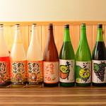 大酒食堂 あきぼし - ドリンク写真:お酒集合