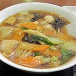 Keien - 五目湯麺800円