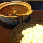 焼肉のかんの - 牛すじカレーとライス