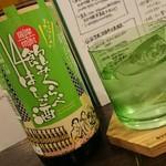 和鮮酒庵 やなぎ - 三岳の種類も豊富です♪