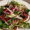アブラッチョ - 料理写真:牛ハラミとお野菜のグリル