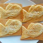 たい焼き 新八 - クロワッサン鯛焼き・スイートポテト 各200円