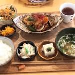 ジーン カフェ - 黒酢あん (さかな