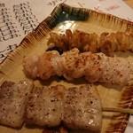 前ちゃん亭 - 料理写真:豚・鳥・鶏皮