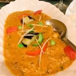 インド料理 ショナ・ルパ - キーマカレー