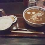 中華料理たから - 中華風激辛カレーラーメンセット.JPG