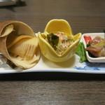 和食、日本料理「南房」 - 前菜3種