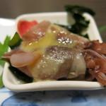 和食、日本料理「南房」 - ホタルイカの酢味噌和え