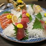 和食、日本料理「南房」 - 刺身の盛り合わせ(3~4人前)