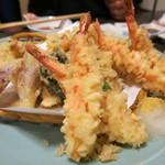 和食、日本料理「南房」 - 天ぷら盛り合わせ
