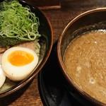 龍旗信 - 魚介豚骨つけ麺♪
