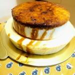 銀のぶどう - 2段のチーズケーキ