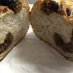 suminoepan - いちじくパン断面