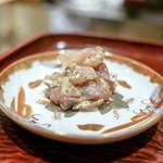 日本料理 晴山 - ☆鯵の味噌漬け
