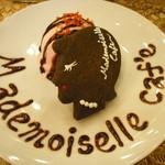 Mademoiselle Cafe - クッキーのプレート