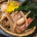 107897808 - 蟹の水炊き鍋
